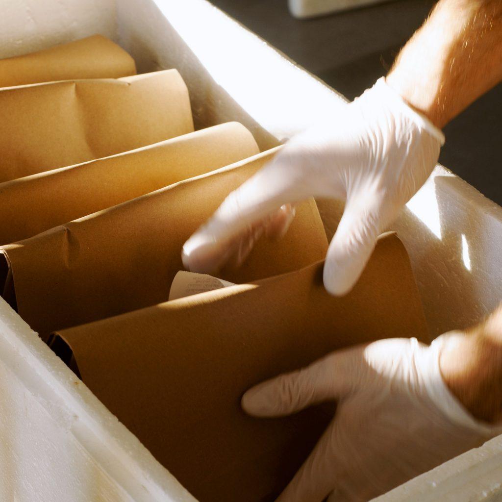 preparation de commande jo le fromager