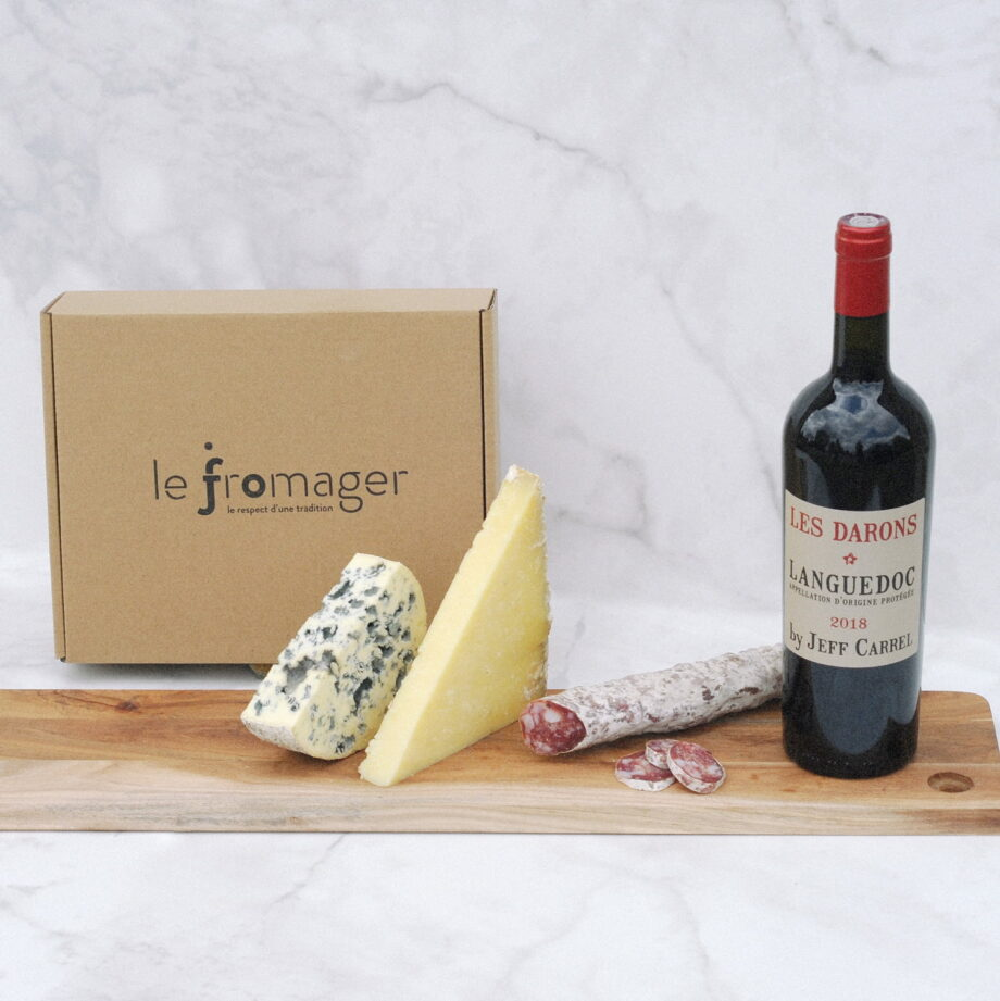 box mixtes fromages charcuterie vin jo le fromager